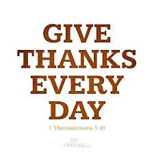 Gratitude – 01st February2016