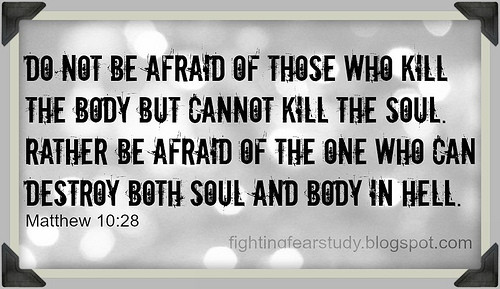 Day 12 Fear Not: Fearful hearts need encouragement to put hope in God's help and justice