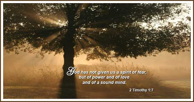 Ten Power Verses for Anxiety andFear