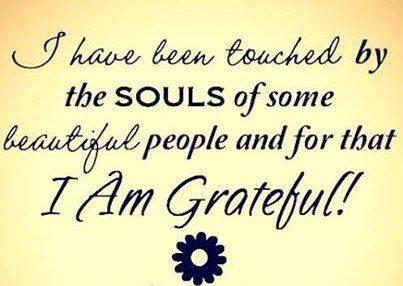 Gratitude – 17th March2016